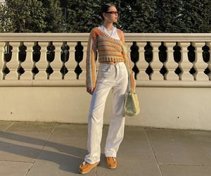 knitwear, street style, and everyday look image