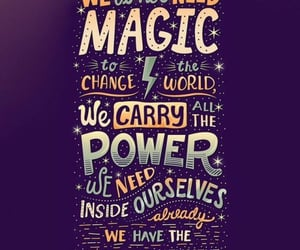 magic, harry potter, and quotes image
