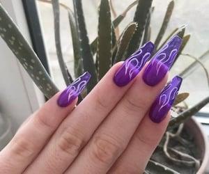 hands, nail art, and nails image