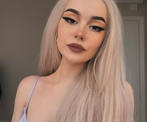aesthetic, gorgeous, and make up image