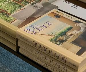 aesthetic, books, and bon voyage image