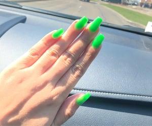 ade, nail art, and uñas neon image