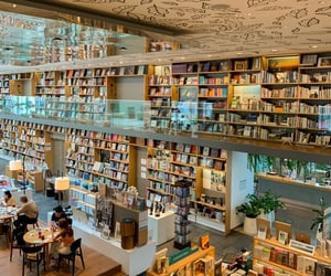 calm, warm, and book shop image