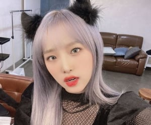 catgirl, yena, and izone image
