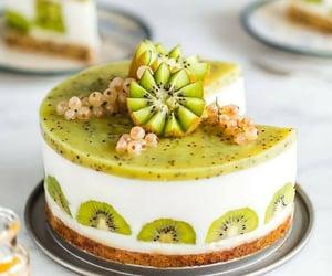 dessert, food, and kiwi image