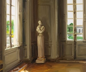 architecture, kunst, and painting image