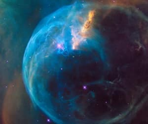 nasa, the hubble, and blowing bubbles image
