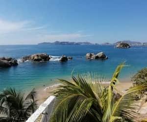 mar, playa, and méxico image
