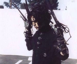 edward scissorhands and johnny depp image
