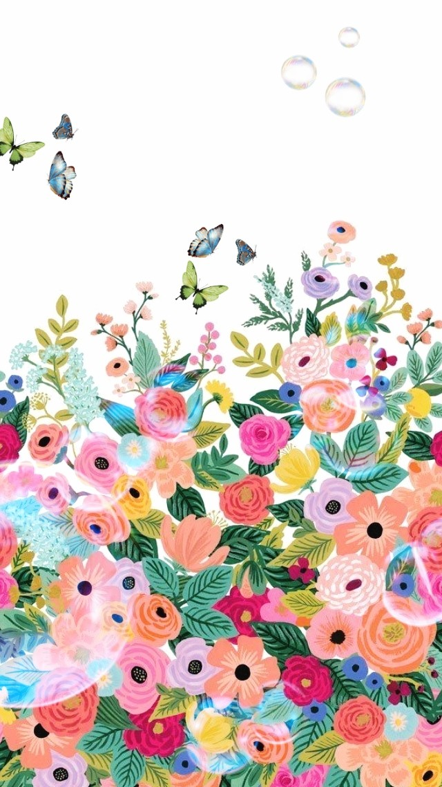 bubbles, butterflies, and colorful image