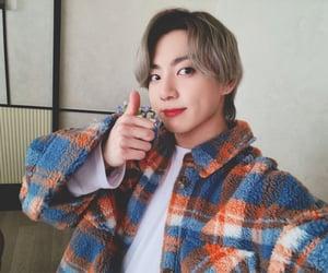 bts, jeon jung kook, and blonde image