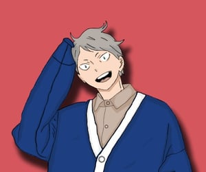 anime, volleyball, and lev haiba image