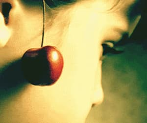 amelie poulain, cherry, and gif image