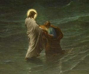art, bible, and savior image