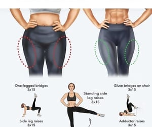 fitness, sehat, and legs image
