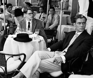 b&w, movie, and the talented mr ripley image