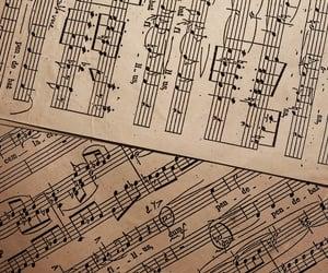 music and light academia image
