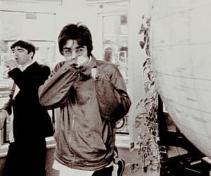 90s, liam gallagher, and oasis image
