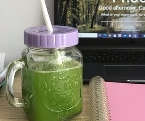 aesthetic, drink, and fit image