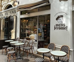 paris, cafe, and background image