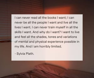 books, sylvia plath, and words image