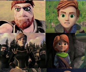 animation, mala, and how to train your dragon image