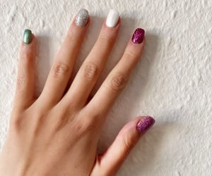 glitters, nails, and prettynails image