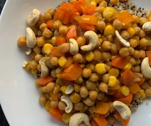 carrots, corn, and lunch image