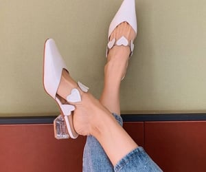 chic, heels, and look image