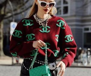 belleza, bolso, and moda image