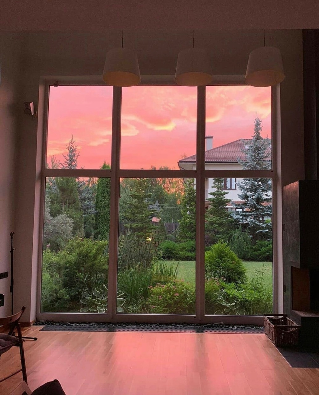 aesthetic, sky, and home image