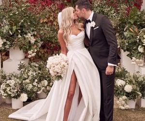 bride, husband, and makeup image
