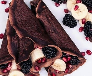 banana, delicious, and blackberry image