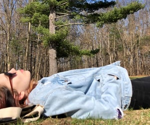 chill, nap, and nature image