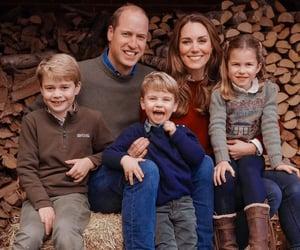 christmas card, family, and princess charlotte image