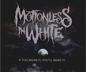 goth, scene kid, and motionless in white image