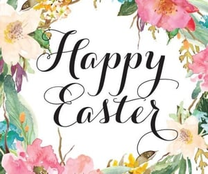 easter, flowers, and spring image