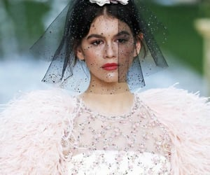 chanel, dazzling, and model image