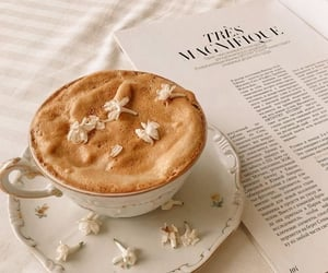 coffee, aesthetic, and flowers image
