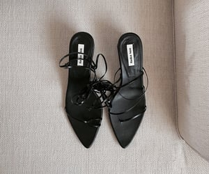 accessories, black, and heels image
