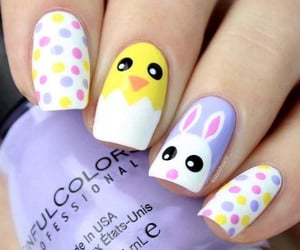 Chick, pastel, and bunny image