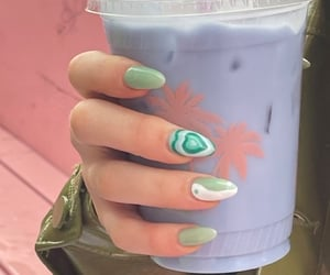 aesthetic, purple, and drink image