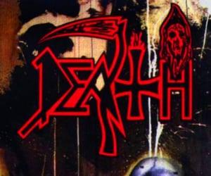 death, metal, and death metal image