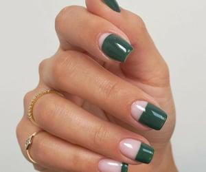 green, style, and nailart image