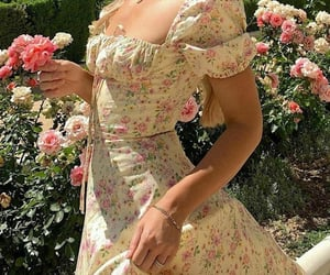 dress, spring, and fashion image