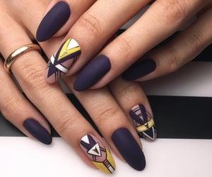 nails, belleza, and moda image