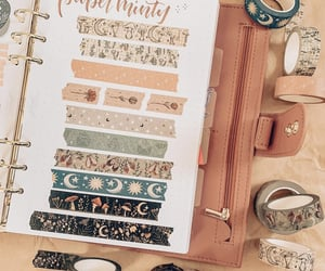 washi tapes, bullet journal, and bujo image