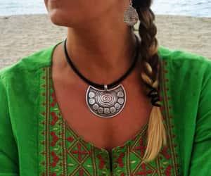 beach, braid, and gypsy image