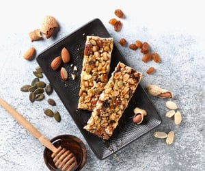 aesthetic, almond, and bars image