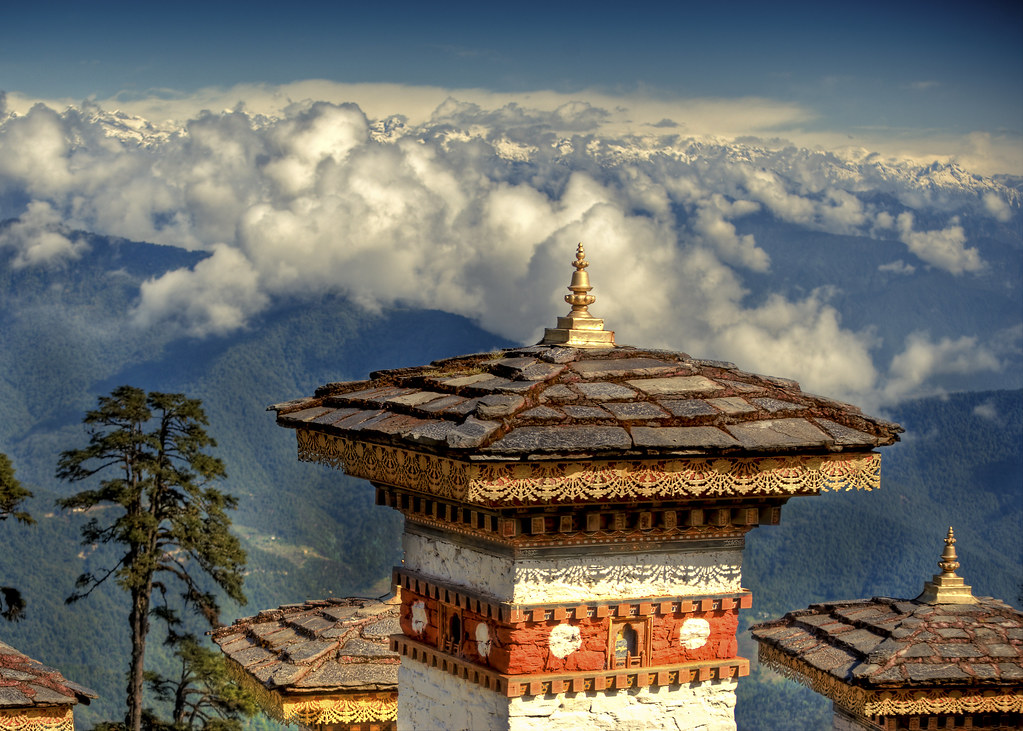 memorial, bhutan, and southern asia image
